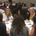 Participants at the Meet the Mentor Lunch session of the 13th International Cerebral Vascular Biology Conference